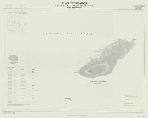 Map of San Cristobal, Santa Fe