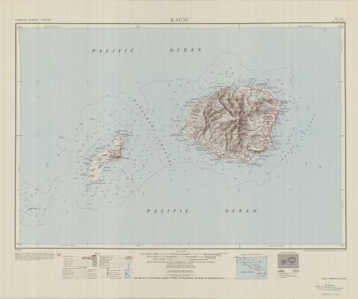 Map of Kauai