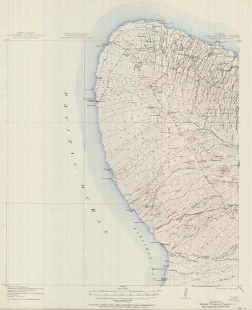 Map of Kohala