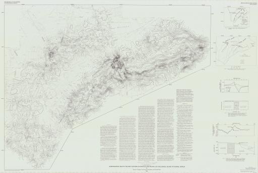 Map of Aeromag Map of Rift Systems of Kilauea, Mauna Loa