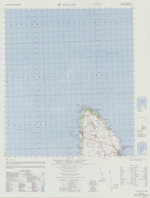 Map of Keflavik