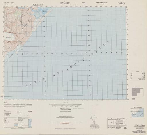 Map of Kvisker (Austur-Skaftafellssysla Hofs)