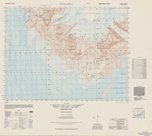 Map of Svinafell