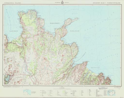 Map of Nordausturland