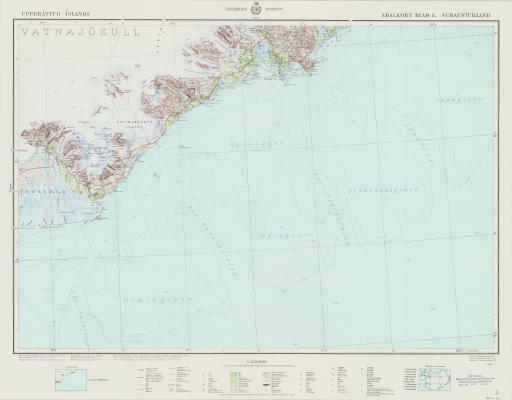 Map of Sudausturland