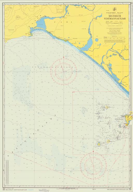 Map of Selvogur Vestmannaeyjar