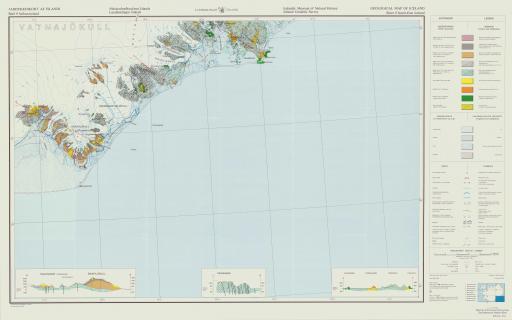 Map of Sudausturland (SE Iceland)