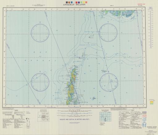 Map of Andaman Islands
