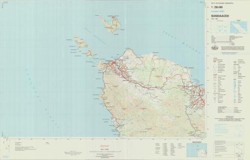 Map of Bandaaceh
