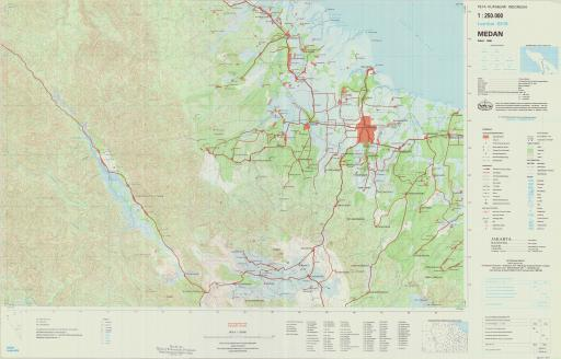 Map of Medan