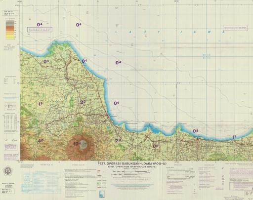Map of Cirebon
