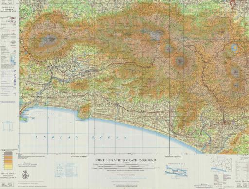 Map of Jogjakarta