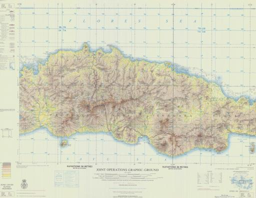 Map of Ruteng
