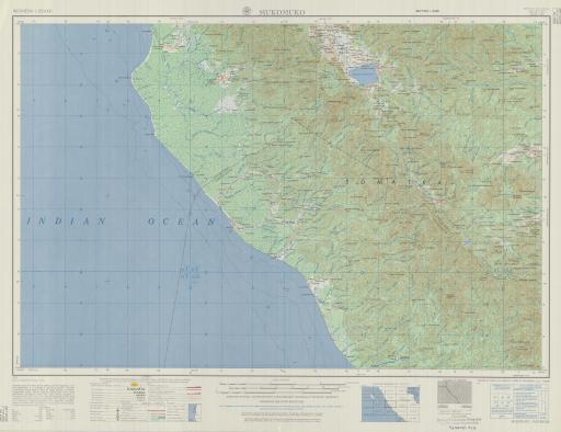 Map of Mukomuko
