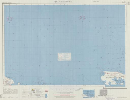 Map of Legung-Timur