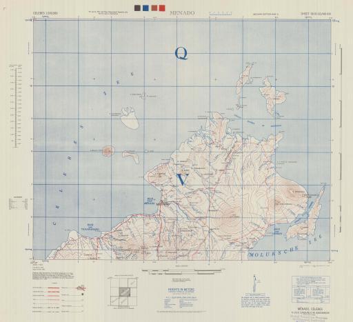 Map of Menado