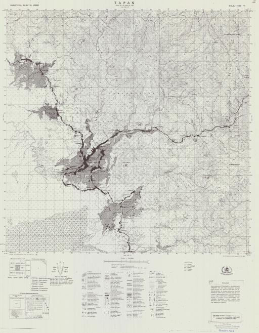 Map of Tapan