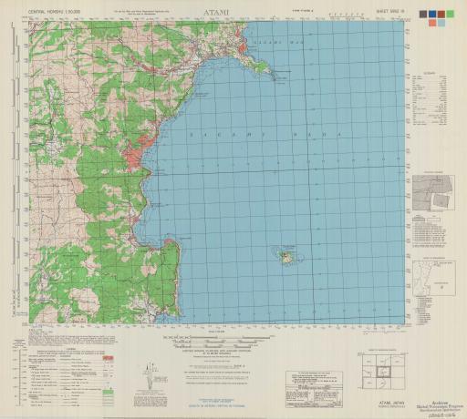 Map of Atami