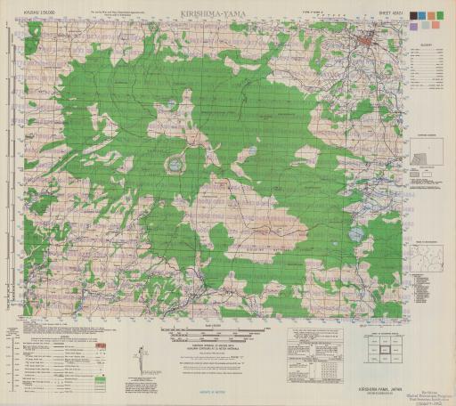 Map of Kirishima-Yama