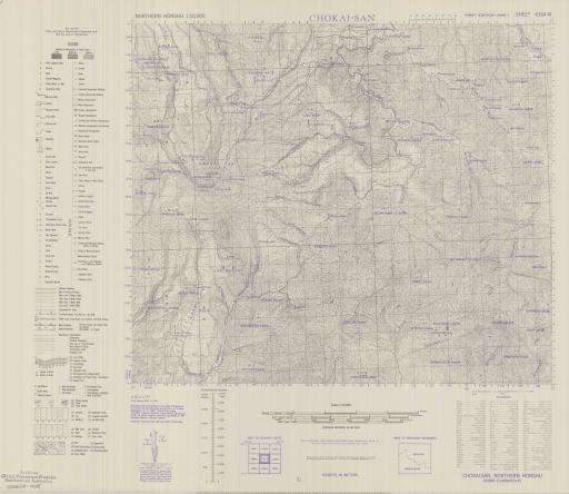 Map of Chokai-San