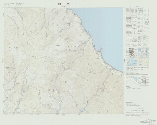 Map of Usujiri