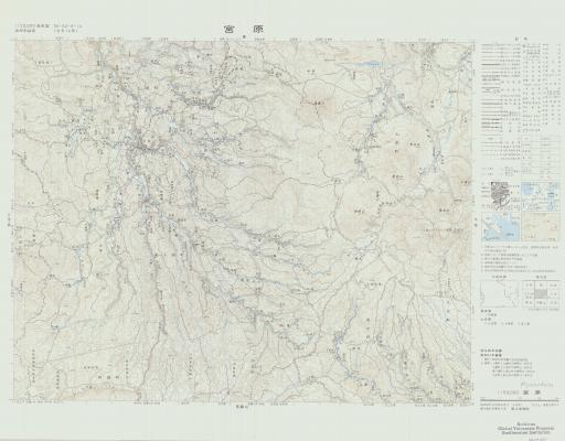 Map of Miyanoharu