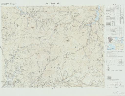 Map of Yahoga-take