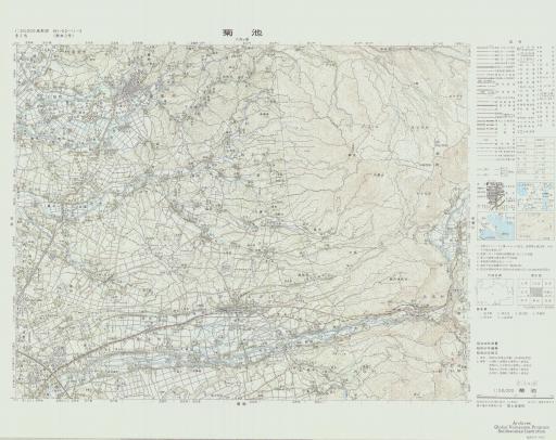 Map of Kikuchi