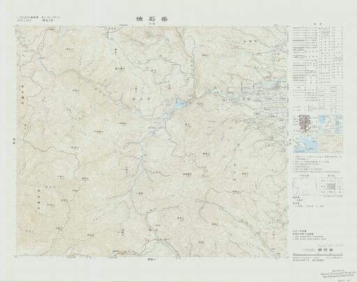 Map of Yakeishi-dake
