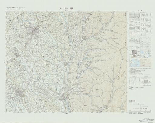 Map of Otawara