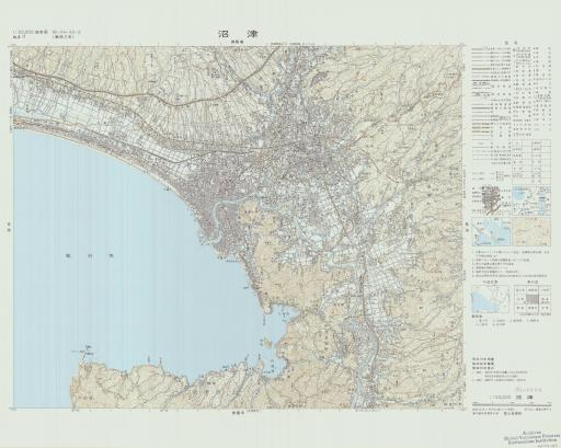 Map of Numazu