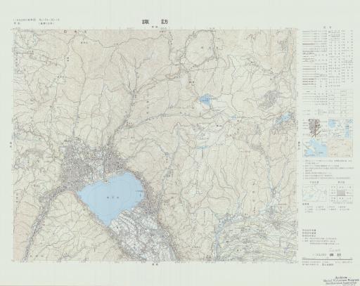 Map of Suwa