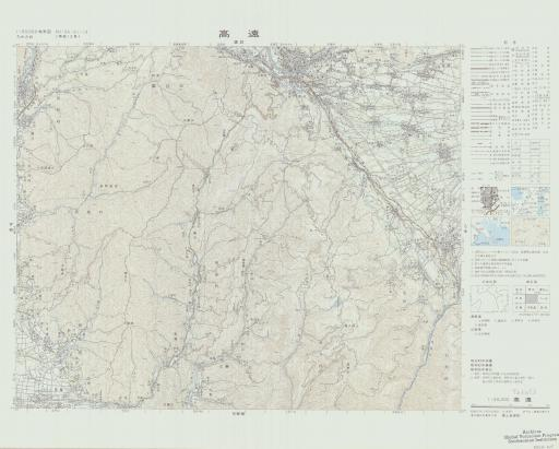 Map of Takato