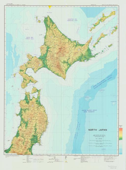 Map of North Japan