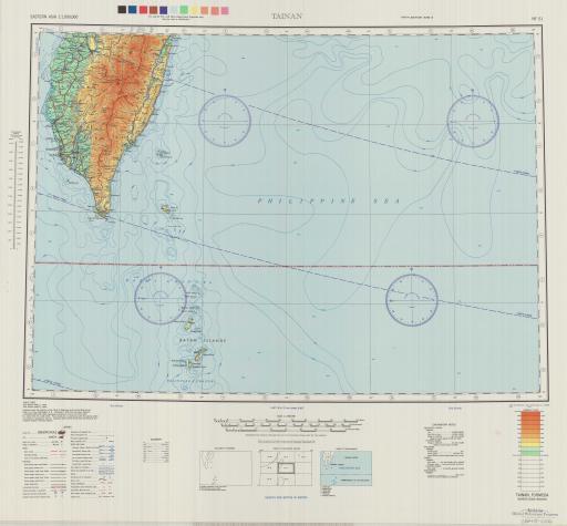 Map of Tainan