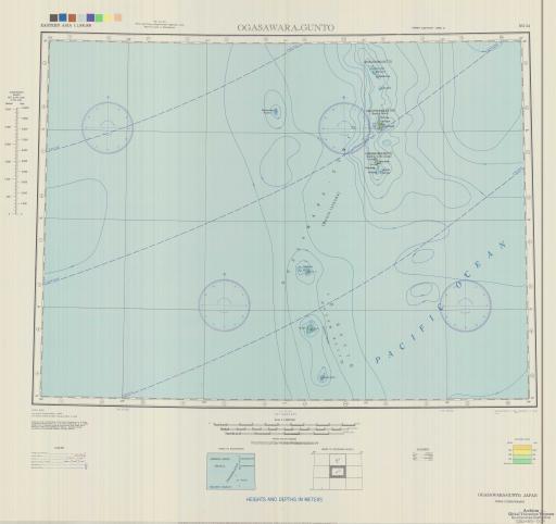 Map of Ogasawara-Gunto