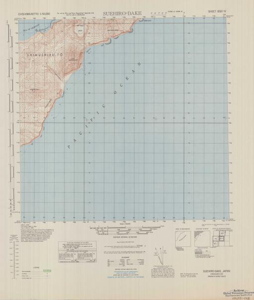 Map of Suehiro-Dake