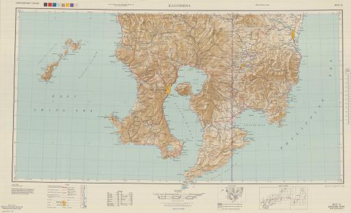 Map of Kagoshima