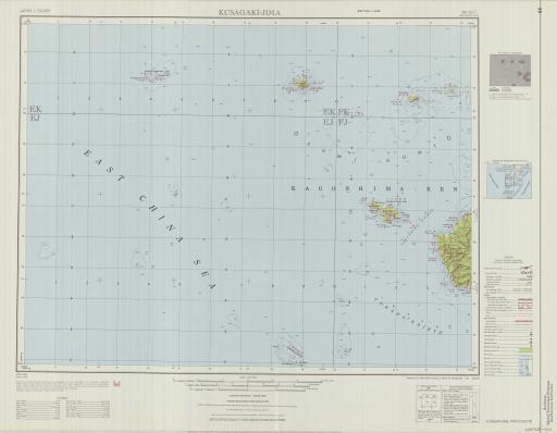 Map of Kusagaki-Jima