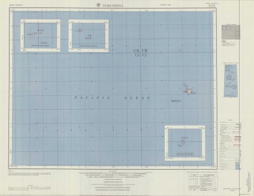 Map of Tori-Shima