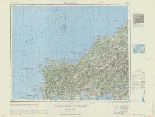 Map of Yamaguchi