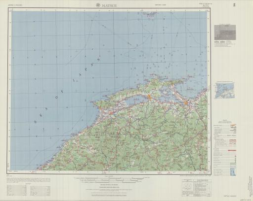 Map of Matsue
