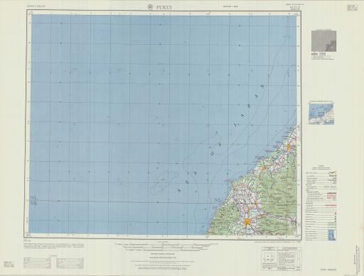 Map of Fukui