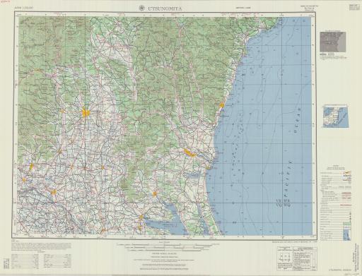 Map of Utsunomiya