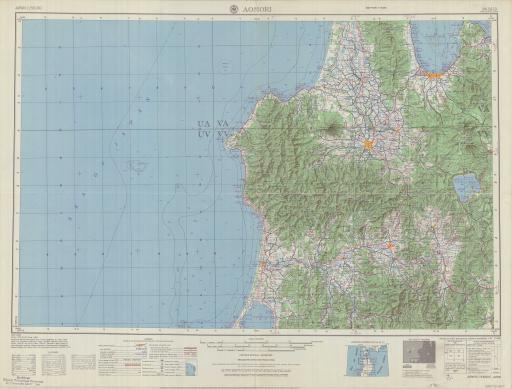Map of Aomori
