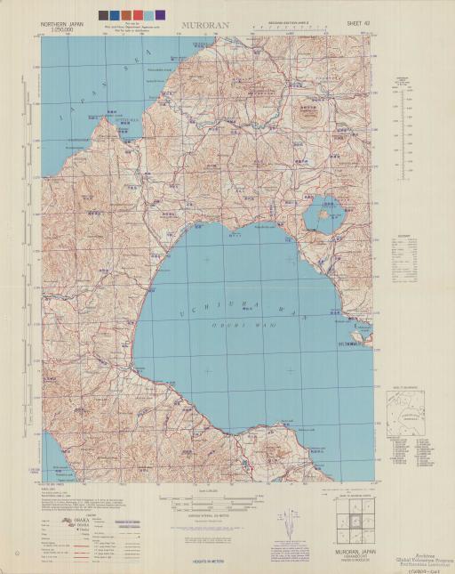 Map of Muroran