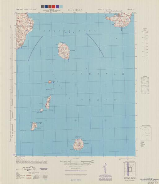 Map of O-Shima