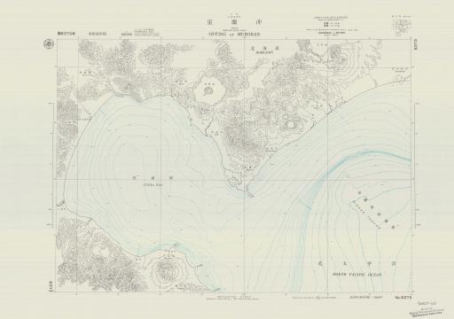 Map of Offing of Muroran