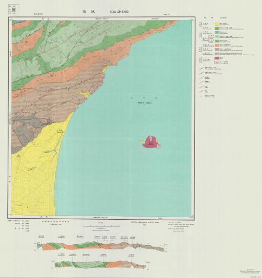 Map of Toucheng