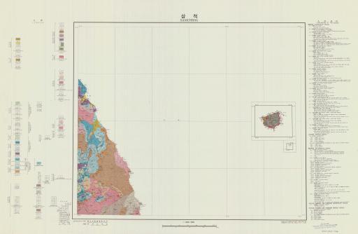 Map of Samcheog